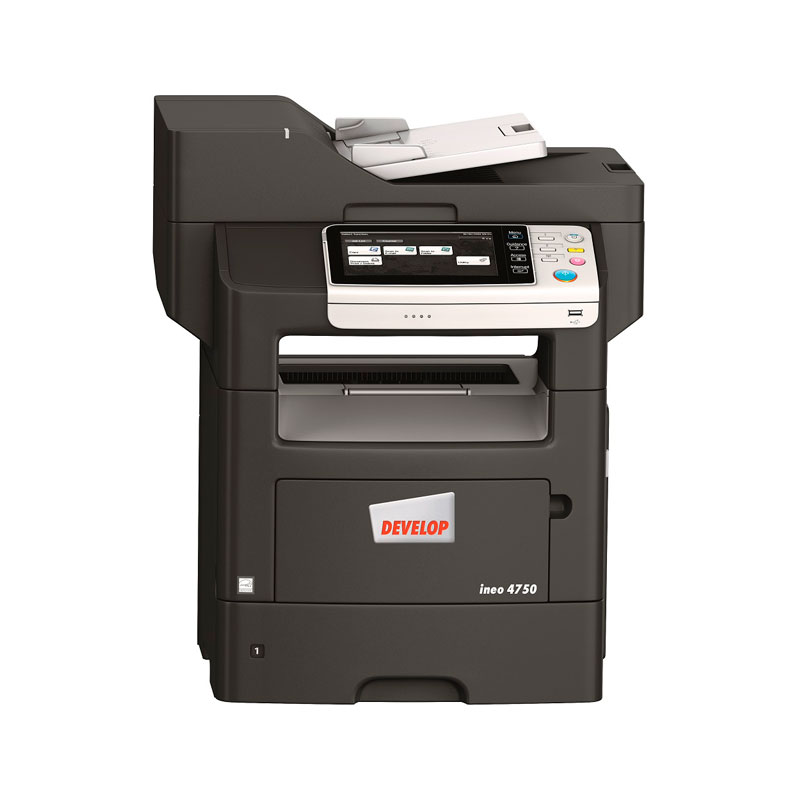 Develop ineo 4750-frontal