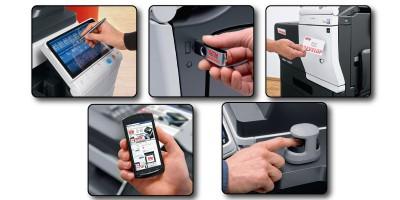 soluciones de gestión de usuarios, Fotocopiadora multifuncional& mas