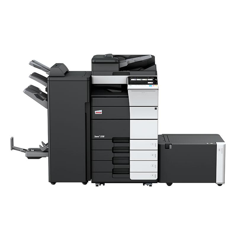 multifuncion Develop a color Ineo +558. Perfecta para oficinas, ayuntamientos, multinacionales, que deseen una buena calidad de impresión.