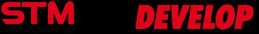 Logo Móvil STM y Develop Nuevo