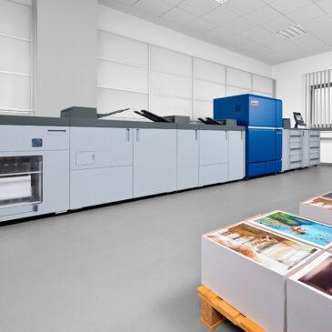 Nueva prensa digital de alto volumen develop Ineo +14000 / ineo +12000
